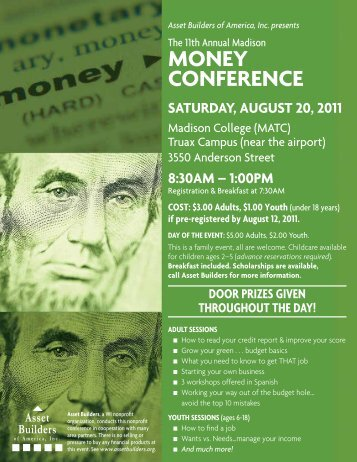 MONEY CONFERENCE - African American Communication and ...