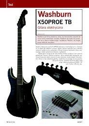 washburn x50 pro e tb - Music Info