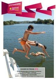 Lot-et-Garonne, vacances et saveurs 2010 - Version francaise