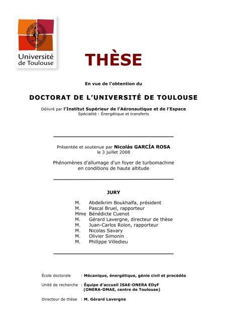 thèse - ISAE