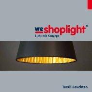 Textil-Leuchten - we-shoplight