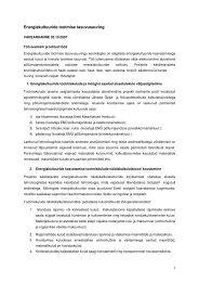 1 Energiakultuuride tootmise tasuvusuuring - bioenergybaltic