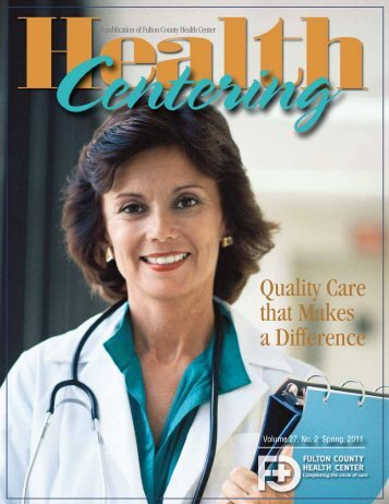 Quality Care that Makes a Difference - Fulton County Health Center