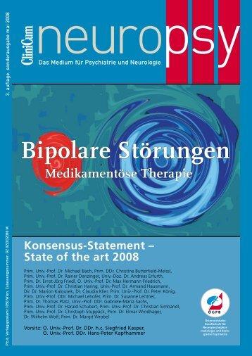 Bipolare Störungen Medikamentöse Therapie ... - doktormohr.at