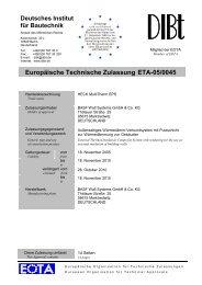 Europäische Technische Zulassung ETA-05/0045 - Wetherby ...