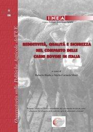 Redditività, qualità e sicurezza nel comparto delle carni ... - Inea