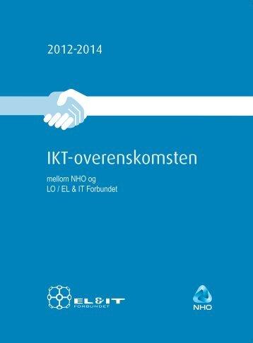 IKT-overenskomsten 2012-2014 - El og it forbundet