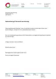 Støtteerklæring til Danmarks lærerforening