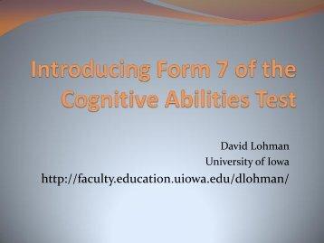 Primary Levels - University of Iowa