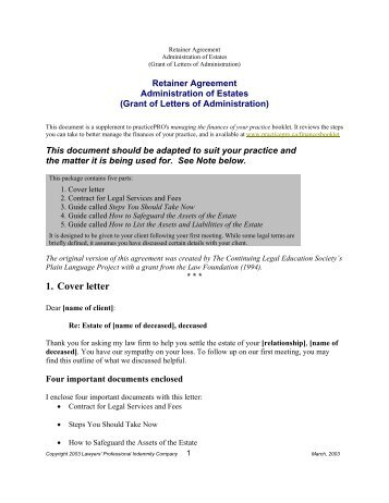 Limited Scope Retainer Agreement  State Bar Of Wisconsin