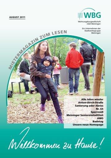 Ausgabe August 2011 als. PDF herunterladen - bei der ...
