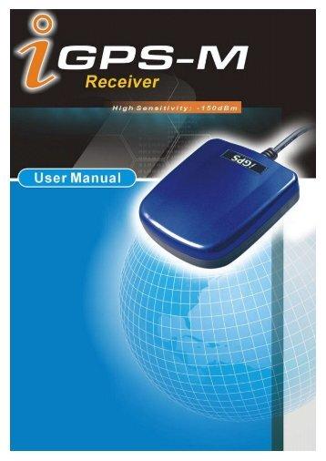 iGPS-M User Manual - English-WaveRadio