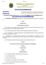 Planos de Carreira dos Servidores Docentes e Técnico ... - Reitoria