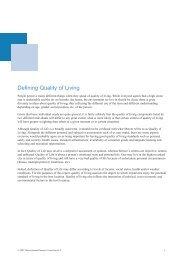 Defining Quality of Living - iMercer.com