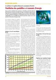 Ventilation des poulaillers et économie d'énergie - Aviforum