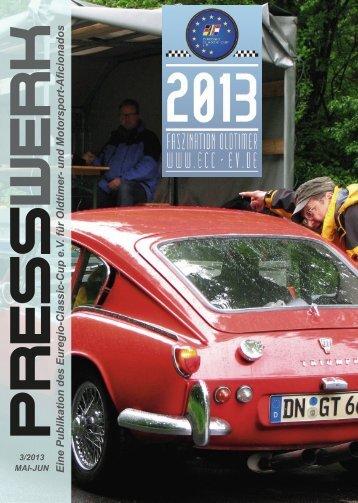 PRESSWERK Vol. 3/2013 - Euregio-Classic-Cup