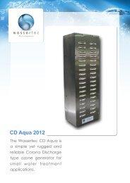 CD Aqua System Variations - Wassertec Ozone Systems