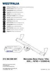 313 382 600 001 Mercedes Benz Viano / Vito; 639 (...16793 = 12 ...
