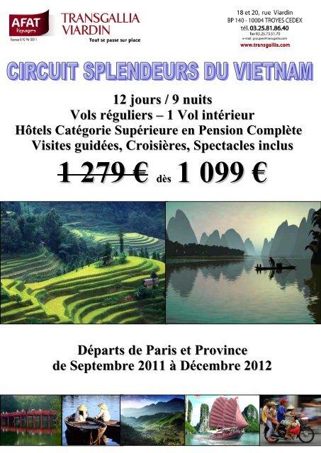 SPLENDEURS DE THAILANDE - Afat