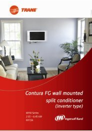 /Contura FG wall mounted - Trane Hong Kong