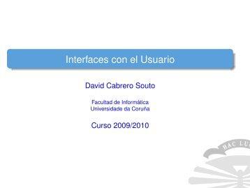 Interfaces con el Usuario - QueGrande