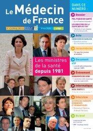Médecin de France n°1187 - CSMF