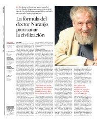 La fórmula del doctor Naranjo para sanar la ... - Claudio Naranjo