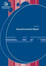 Annual Economic Report 2001-02 The Queensland Economy