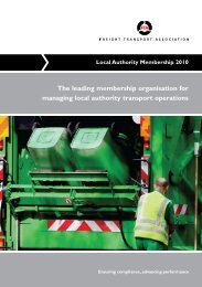 Local authortity membership form - Freight Transport Association