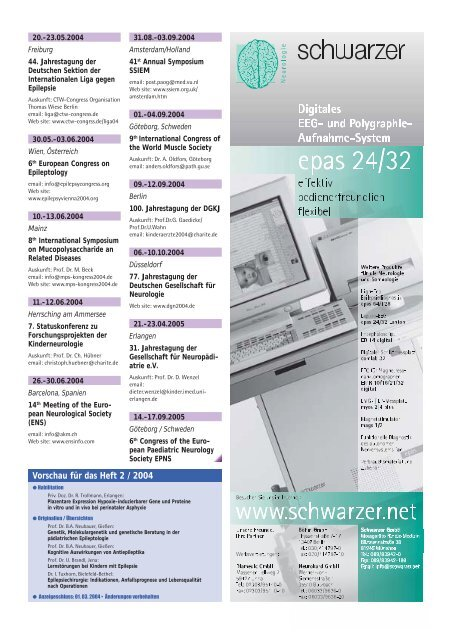 #4422_neurop.diatrie 1/04 - Neuropädiatrie in Klinik und Praxis