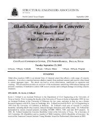 Alkali-Silica Reaction in Concrete: - SEAoT