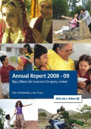 Annual Report-09 Cover.cdr - Bajaj Allianz