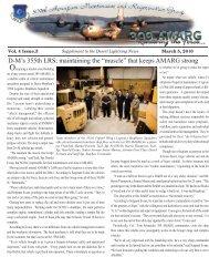 Supplement March 2010.indd - Davis-Monthan Air Force Base