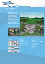 Die drei Bausteine des Projekts Weitere Informationen - Wankdorfplatz