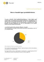 Mere e-handel øger produktiviteten (pdf) - DI Handel
