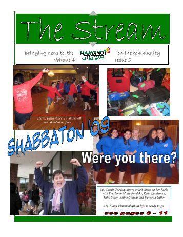 Issue 5.pub - Ma'ayanot Yeshiva High School for Girls