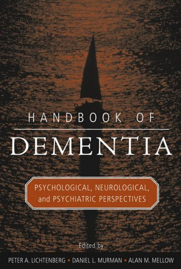 Neurologic Aspects of Vascular Dementia