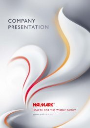 COMPANY PRESENTATION - Walmark