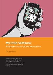 My little Safebook - Für Jugendliche - Kantonspolizei Zürich