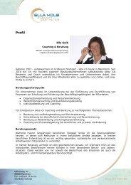 Profil - Ella Kolb Coaching