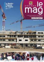Cognac Mag janvier fevrier2011 - Ville de Cognac