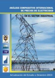 Analisis Comparativo Internacional de Precios de Electricidad en el ...