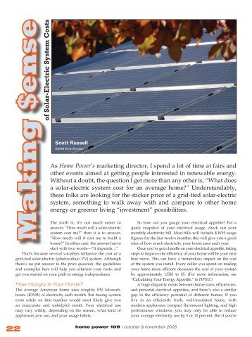 Making Sense of Solar-Electric System Costs - Equal Parenting-BC