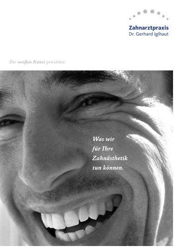 PDF herunterladen (614 KB) - Dr.Iglhaut