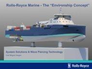 "Rolls-Royce Marine - The ""Environship Concept"""