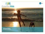 Essential Kids Short Credentials - Fairfax Media Adcentre