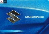 Pobierz katalog (PDF) - Suzuki Motor Poland