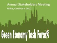 Annual Stakeholders Meeting Presentation - Sustainable Business ...