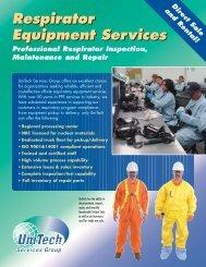 Respiratory Equipment Services - UniTech
