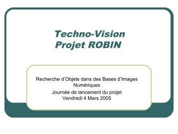 (CNRS) : Kick off Meeting